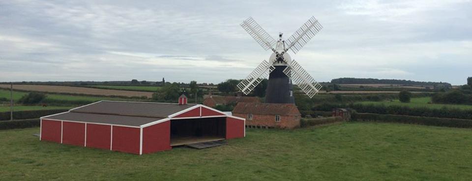 Big Red Barn England