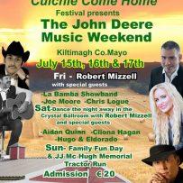 Big Red Barn at Coillte Come Home Festival Kiltimagh Co.Mayo