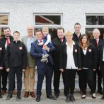 Big Red Barn Staff Members at the Official Opening of Big Red Barn New Premises with Today FM Conall O Móráin