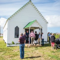 Little White Chapel Launch Claggan Island Belmullet Co.Mayo