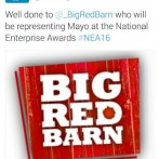 Big Red Barn representing Mayo in the National Enterprise Awards 2016