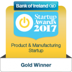 Big Red Barn Wins Bank of Ireland  Product & Manufacturing Startup Business Awards 2017